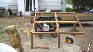 solar panel stand for 24v 250w panels youtube