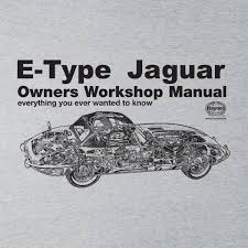haynes owners workshop manual jaguar e type black men u0027s t shirt ebay