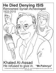 coloring books khaled al assad free online coloring page