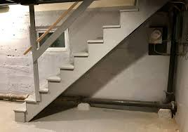 Basement Wall Waterproofing by Waterproofing A Concrete Basement Wall With A Staircase In The Way