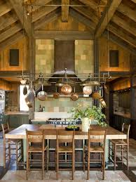 rustic mexican kitchen design kitchen rustic with vent hanging pot