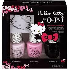 sparkle u0026 shine hello kitty by opi