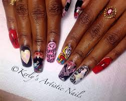 mickey and minnie mouse nail art design nail art gallery