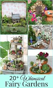 list of small scale fairy garden plants gardening pinterest