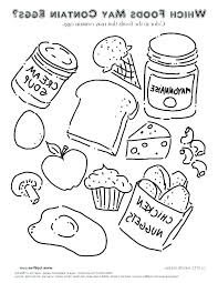 printable food coloring pages victormiller co