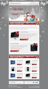 festive newsletter u2013 attractive holiday email template http