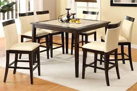 tall kitchen table and chairs tall dining table set elegant dining room design with tall square