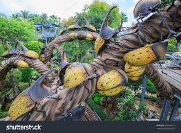 Nong Nooch Tropical Botanical Garden by Pattaya Chonburi Dec29 Beautiful Garden Decoration Stock Photo