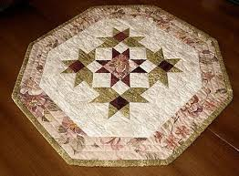 quilted square table toppers octagon quilted table topper pattern free pattern for download