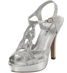 silver prom heels cheap prom bridal silver wedding shoes of - Cheap Silver Wedding Shoes