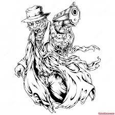 awesome gangster tattoo design tattoo viewer com