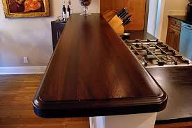 Bar Top Pictures by Wenge Wood Countertop Photo Gallery By Devos Custom Woodworking