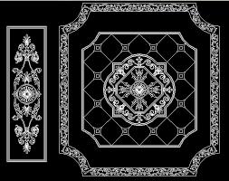cheap marble floor design waterjet medallion supplier for hotel