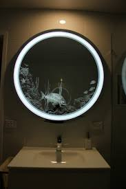 Led Bathroom Mirror Lighting - bathroom light mirror custom designed and made in australia by