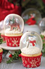 snow globe cupcakes recipe snow globe cupcakes gelatin