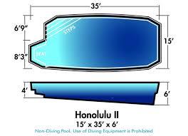 18 best fiberglass pool shapes sizes u0026 dimensions images on