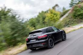 porsche models first ride 2017 porsche cayenne turbo autocar