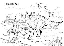 dinosaur coloring pages for kids printable free