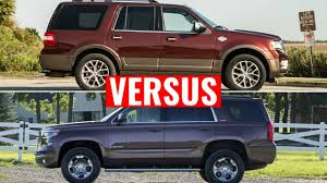 ford explorer vs chevy tahoe 2015 chevy tahoe vs 2015 ford expedition