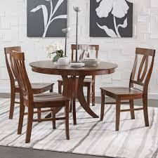 espresso dining room set siena pedestal dining table set in espresso