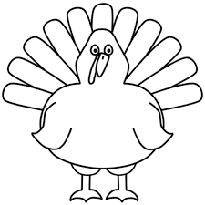 turkey coloring pages preschoolers pertaining