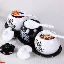 online get cheap kitchen storage jars set ceramic aliexpress com