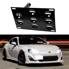 subaru brz front bumper amazon com ijdmtoy jdm style front bumper tow hole adapter