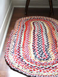 upcycle style braided t shirt rug my poppet makes