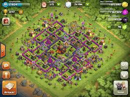clash of clans dragon wallpaper clash of clans base designs town hall level 10 1337 wiki