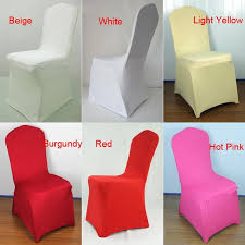 Stretch Chair Covers Aliexpress Com Buy 1pc Sample Text Universal White Stretch