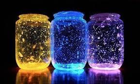 creative ideas diy glow stick galaxy glow in the jars i