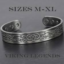 bracelet magnetic wristband images Healing copper bangle magnetic therapy bracelet viking legends jpg