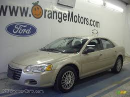 2006 chrysler sebring touring sedan in linen gold metallic pearl