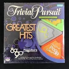 trivial pursuit 80s trivial pursuit greatest hits 80s 90s pop culture 2 trivia board