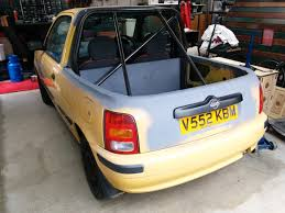 sold nissan micra 1 0l pickup project 495 northampton