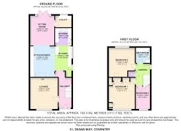 3 Way Bathroom Floor Plans Deans Way Coventry 3 Bed Semi Detached House 189 950