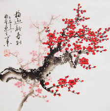 Japanese Flowers Paintings - japanese cherry blossom drawing google search japanese