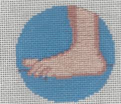 stitching adding to the canvas nuts about needlepoint