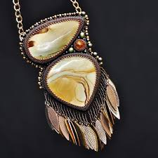 bead necklace jewellery images Seed bead embroidery jewelry nicole hanna jewelry jpg
