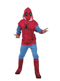 spider man homecoming spider man hoodie and sweatpants set