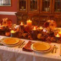how to decorate a table for thanksgiving dinner themontecristos