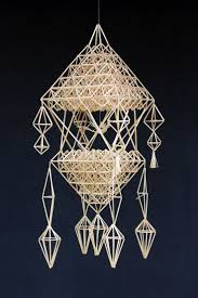 Ornament Chandelier Diy by 133 Best Himmeli Images On Pinterest Handmade Ornaments Straws