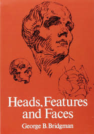 heads features and faces dover anatomy for artists by george b