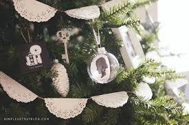 simple diy silhouette keepsake ornaments