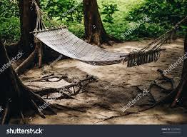 relax outdoor bed hammock swing stock photo 722301025