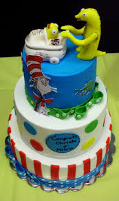 cat in the hat babyshower cake cakecentral com