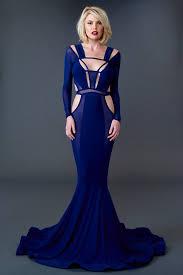 blue dress cobalt gown b a o t r a n c h i