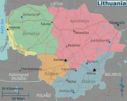 Lithuania World Map by Lithuania U2013 Travel Guide At Wikivoyage