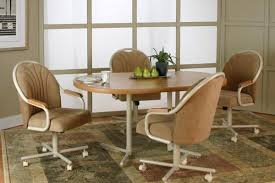 kitchen table with caster chairs kitchen dining sets with casters kutskokitchen