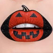 pumpkin lip art ideas popsugar beauty